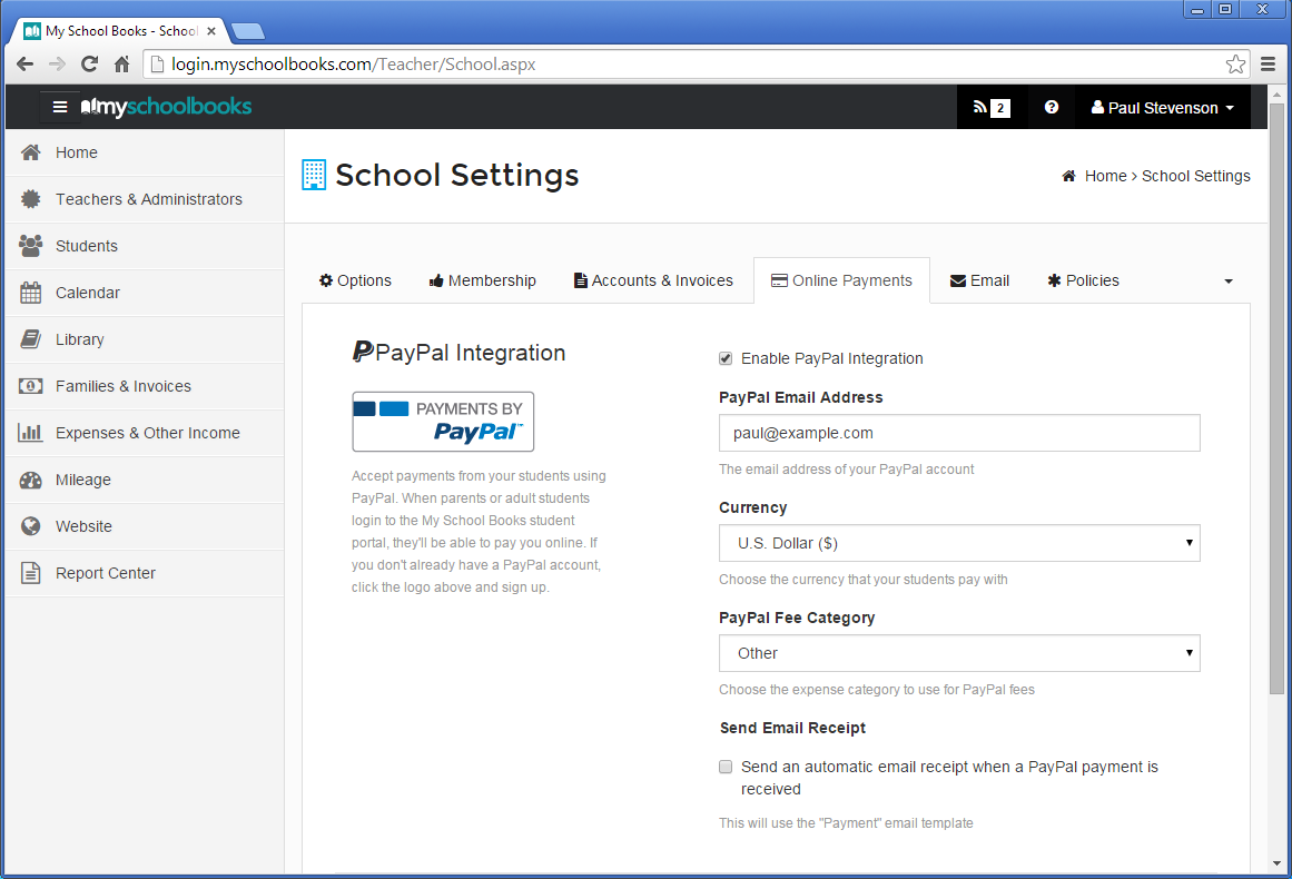 Online Payments   My School Books