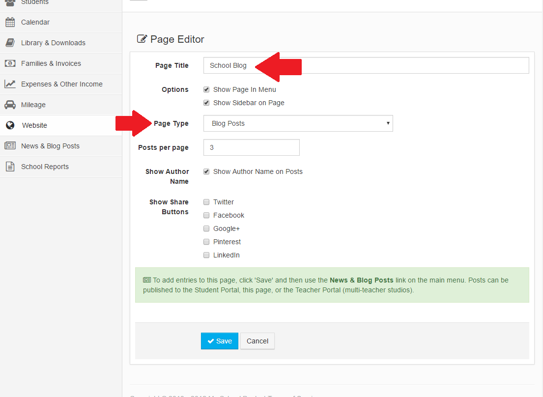 How can I add a blog to my website? – My School Books