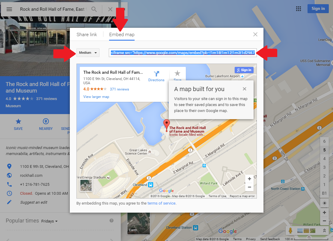 Can I place a Google map on my website? – My School Books